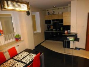 Kuchnia lub aneks kuchenny w obiekcie Apartament Kielce Lecha