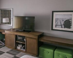 A television and/or entertainment center at Hampton Inn & Suites Amarillo East