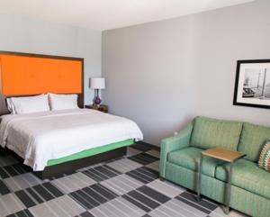 A bed or beds in a room at Hampton Inn & Suites Amarillo East