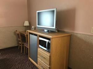 A television and/or entertainment center at Silver Spruce Inn