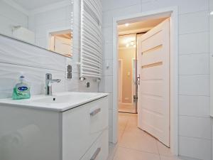 Łazienka w obiekcie Apartament Rajski Park