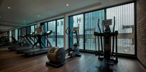 The fitness center and/or fitness facilities at Hotel Stripes Kuala Lumpur, Autograph Collection