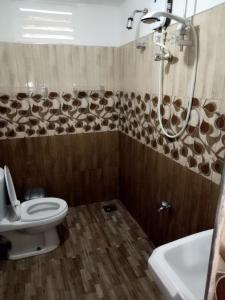 A bathroom at Tunnel Gap Homestay