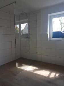 Ein Badezimmer in der Unterkunft Ferienappartements Holger Plescher