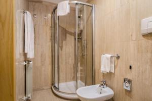 Salle de bains dans l'établissement Exe Domus Aurea