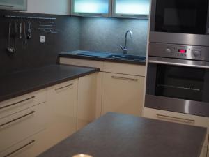 Kuchyň nebo kuchyňský kout v ubytování Apartmán Vila Radmila