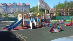 Children's play area at Apartment in Svetlogorsk-2