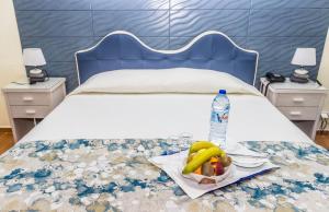 Uma cama ou camas num quarto em Aeromar