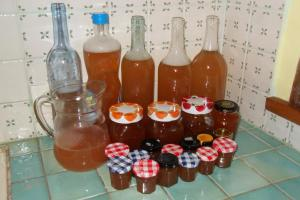 Drinks at Chambres d'hôtes Manoir du Buquet