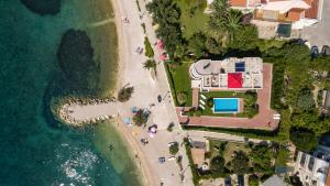 A bird's-eye view of Villa Palmina