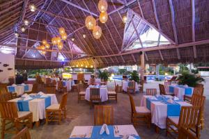 A restaurant or other place to eat at Flamingo Vallarta Hotel & Marina
