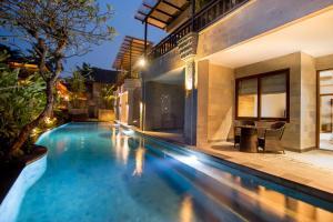 The swimming pool at or near Ulun Ubud Resort