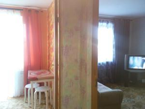 Телевизор и/или развлекательный центр в Апартаменты в пгт Грибановский