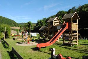 Children's play area at Taos single Hotelkamer