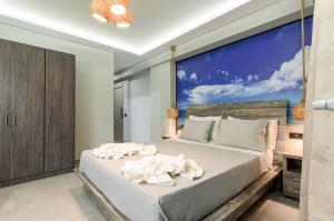 Krevet ili kreveti u jedinici u okviru objekta Artemis Apartments