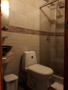 A bathroom at Mongui Plaza Hotel