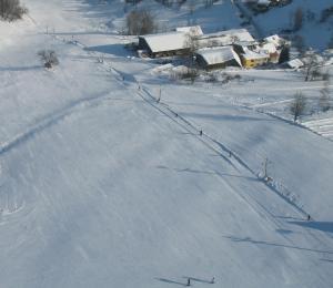 Penzion Filoun v zimě