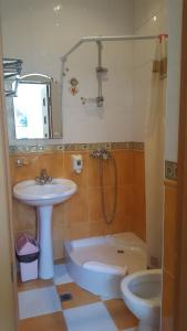 Ванная комната в Гостиница Театральная