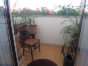 Uma varanda ou terraço em Sótão do avô