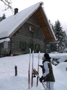 Jagdhaus Klaushofstube im Winter
