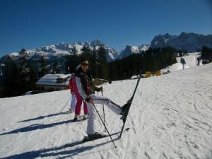 Skifahren in der Pension oder in der Nähe