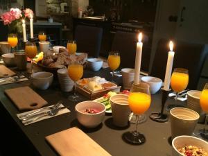 Frukostalternativ för gäster på Johan Målares Hus