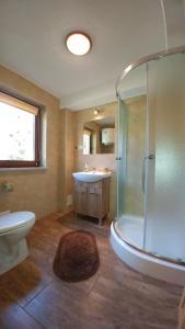 Łazienka w obiekcie Chatka Bukowina