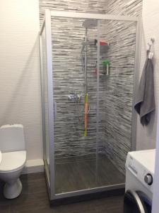 A bathroom at Apartment on Turisticheskaya