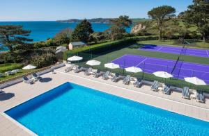 A view of the pool at The Carlyon Bay Hotel and Spa or nearby