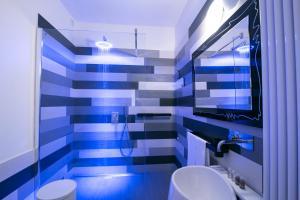 Salle de bains dans l'établissement Design&Art Pie'
