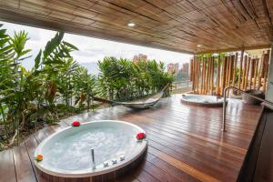 Spa and/or other wellness facilities at Diez Hotel Categoría Colombia