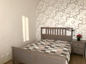 Кровать или кровати в номере Apartment Floor 11