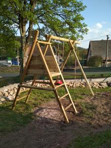 Herní místnost nebo prostor pro děti v ubytování Chalupa Krkonoše