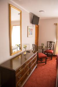 Zona de estar de Hotel Boston Quillota