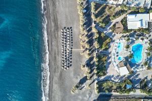 A bird's-eye view of Santo Miramare Beach Resort