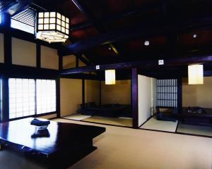 A television and/or entertainment center at Fujiya