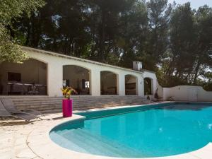 The swimming pool at or near Spacious Villa in La Gaude with Swimming Pool
