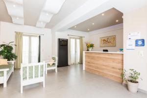 Ο χώρος του λόμπι ή της ρεσεψιόν στο Amalia Apartments