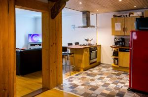 A kitchen or kitchenette at Emeline
