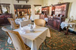 A restaurant or other place to eat at Brook Marston Farm Hotel