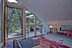 Ein Bett oder Betten in einem Zimmer der Unterkunft Gusto Stolberg