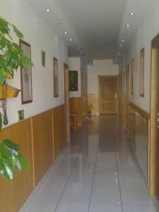 The lobby or reception area at Rézkakas Fogadó