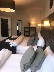 Hamburg Apartにあるベッド
