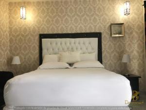 Cama o camas de una habitación en Daymond Blue Tropical Lodge