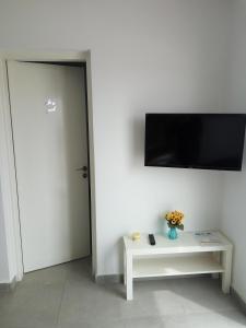 TV in/ali zabaviščno središče v nastanitvi Elenapa Holiday Apartments
