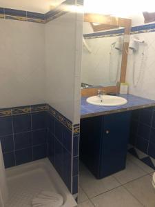 Salle de bains dans l'établissement Hotel Clair de Lune