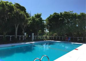 The swimming pool at or close to Renvyle House Hotel