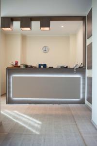 Zona de hol sau recepție la Bruxelles Guesthouse Craiova