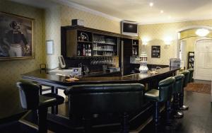 Lounge oder Bar in der Unterkunft Parkhotel Helmstedt