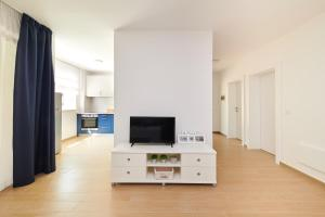 A television and/or entertainment centre at Apartments Niko